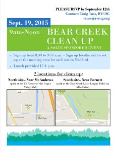 Bear Creek Cleanup